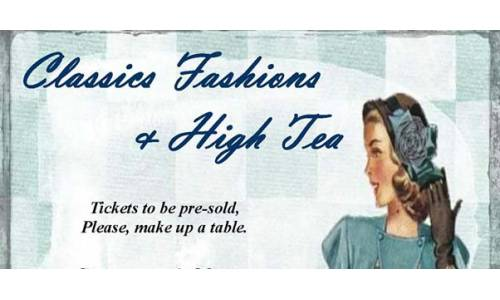 Classic Fashions and High Tea at Tam O'Shanter Golf Club