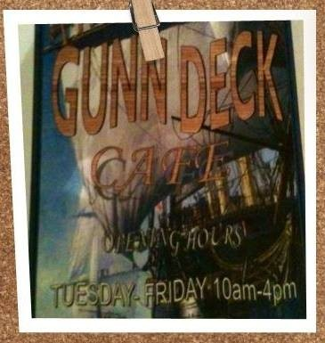 Bass and Flinders Centre's Gunn Deck Cafe Logo