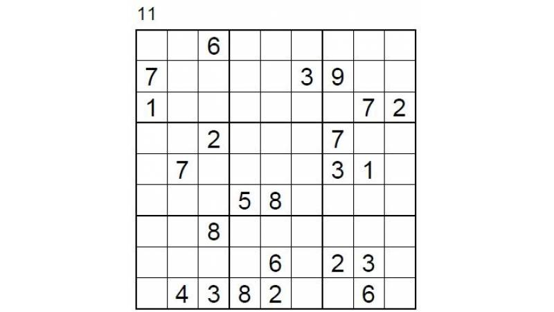 Hard Number Puzzle 11 & 12