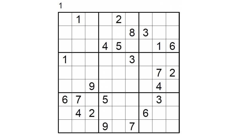 Hard Number Puzzle 1 & 2