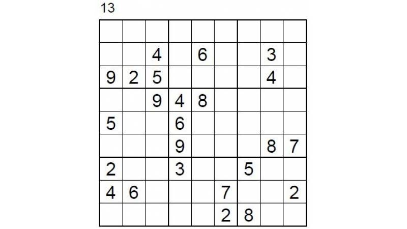 Hard Number Puzzle 13 & 14