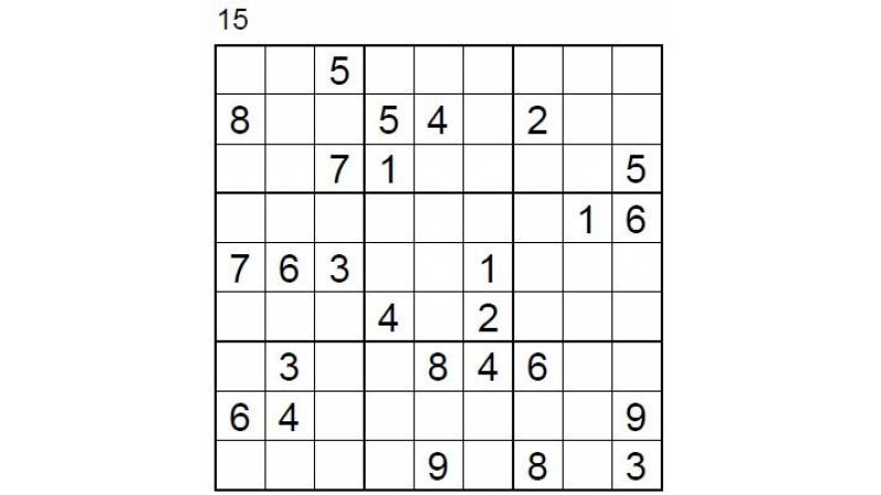 Hard Number Puzzle 15 & 16
