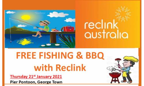 FREE Fishing & BBQ with Reclink