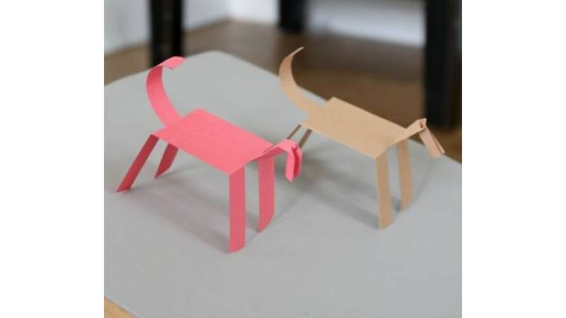 Paper Horse that WALKS