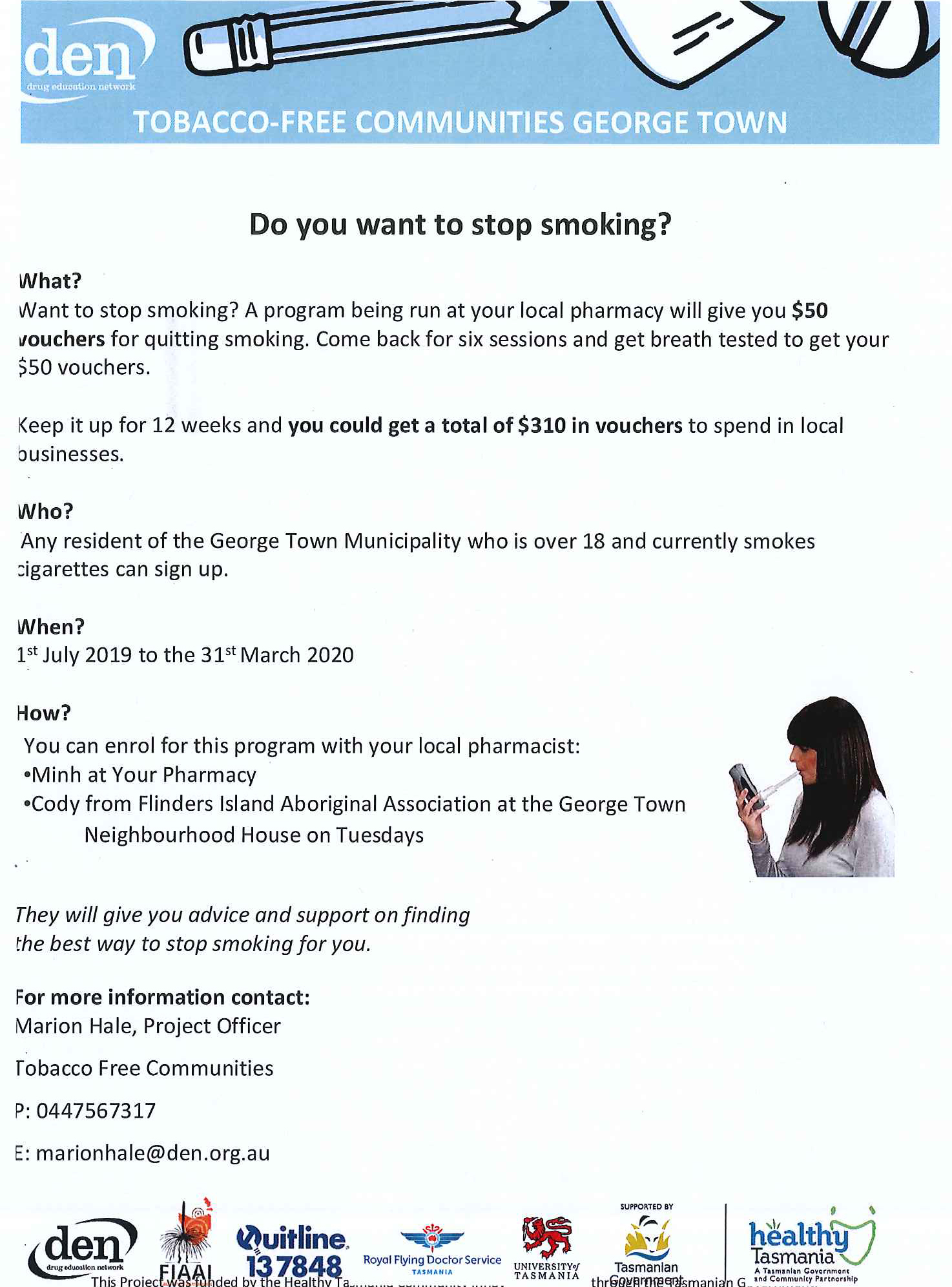 Launch of Tobacco Free George Town - George Town Council