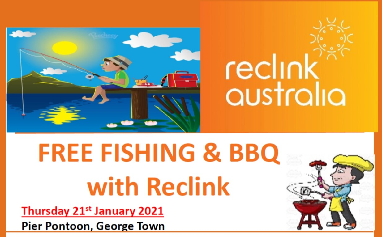 FREE Fishing & BBQ with Reclink image