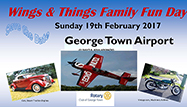 Rotary Club of George Town - Wings and Things - 24 February 2019 image