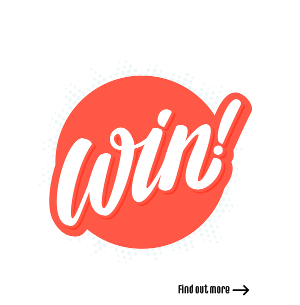 win awesome prizes
